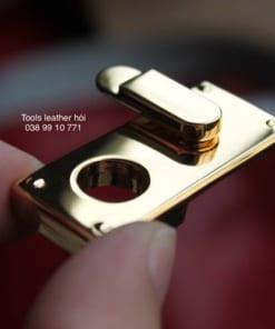 Khoá xoay mạ vàng 24k cao cấp 21*47mm