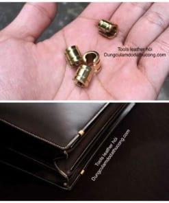 Chân cặp túi Dulles vàng(1 cái)