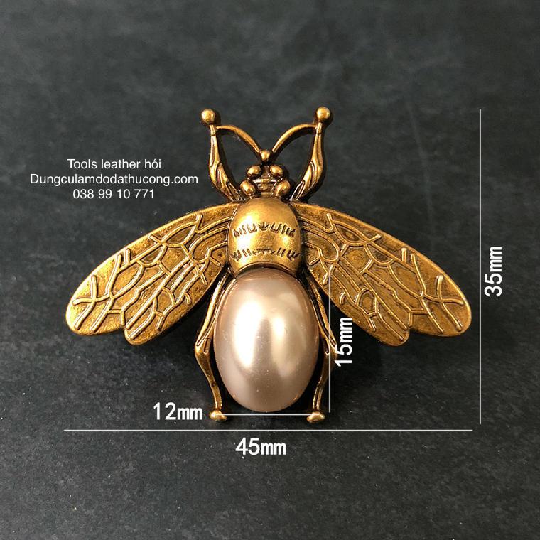 mặt trang trí con ong