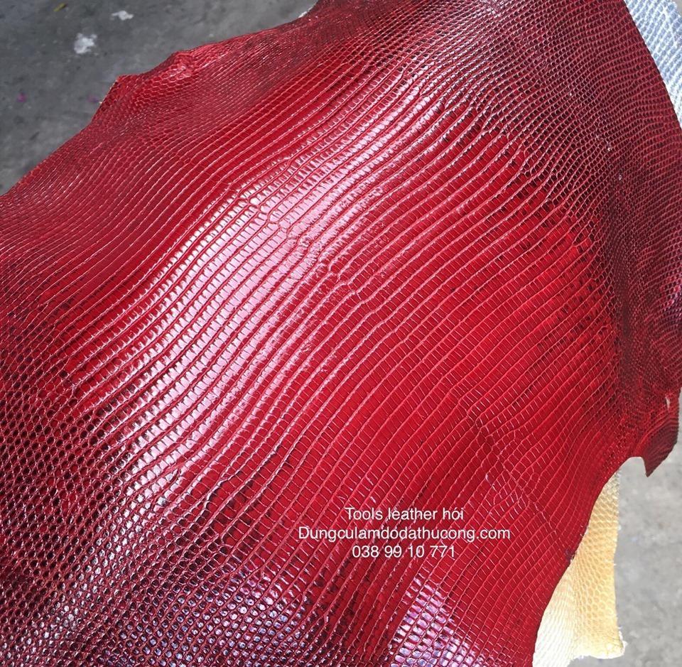 da kì đà indo màu đỏ ( giá tùy size từ 320k)