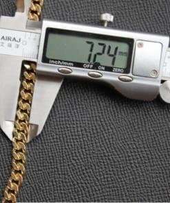 Dây xích đeo túi LV đồng mạ vàng 24K cao cấp