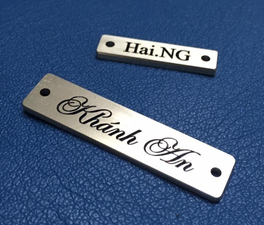 name tag đồng ( theo yêu cầu)