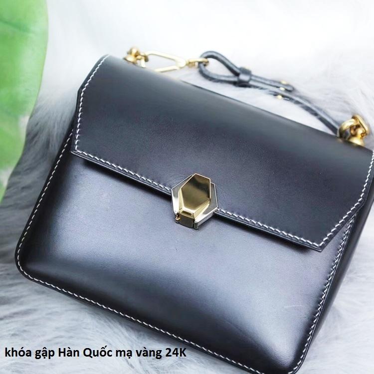 khóa gập Hàn Quốc mạ vàng 24k