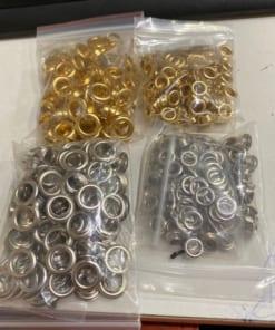 Túi ô rê 10mm (#800) vàng hoặc bạc