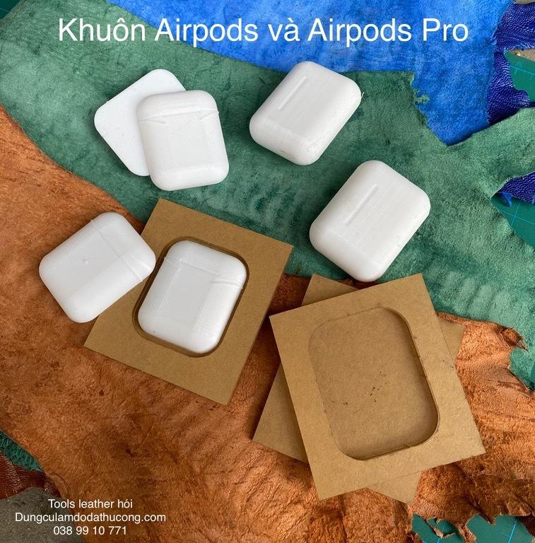 Khuôn bao da tai nghe Air pods và Air pods Pro